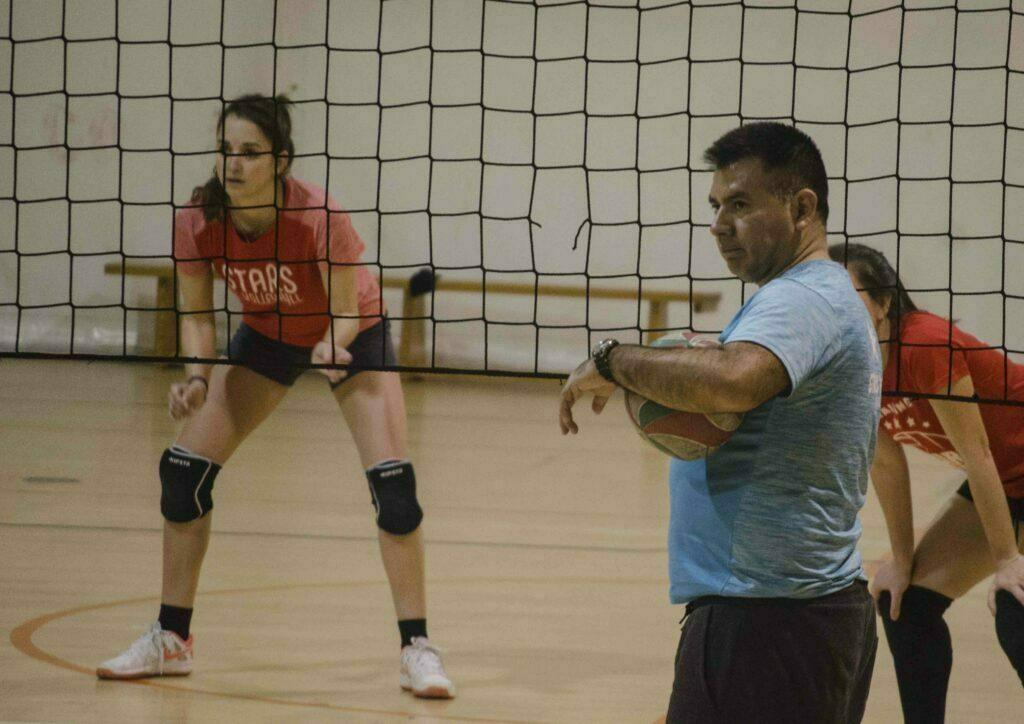 Recepción en voleibol