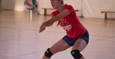 Recepcion voleibol femenino
