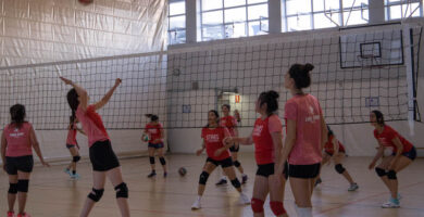 Voley juego femenino Madrid